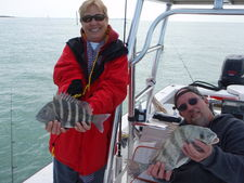 Fish are biting in the cool tampa bay water for What fish are biting this time of year